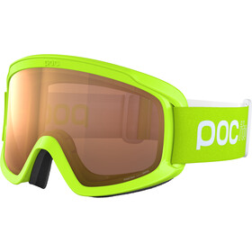 POC POCito Opsin Lunettes de protection Adolescents, fluorescent yellow/green